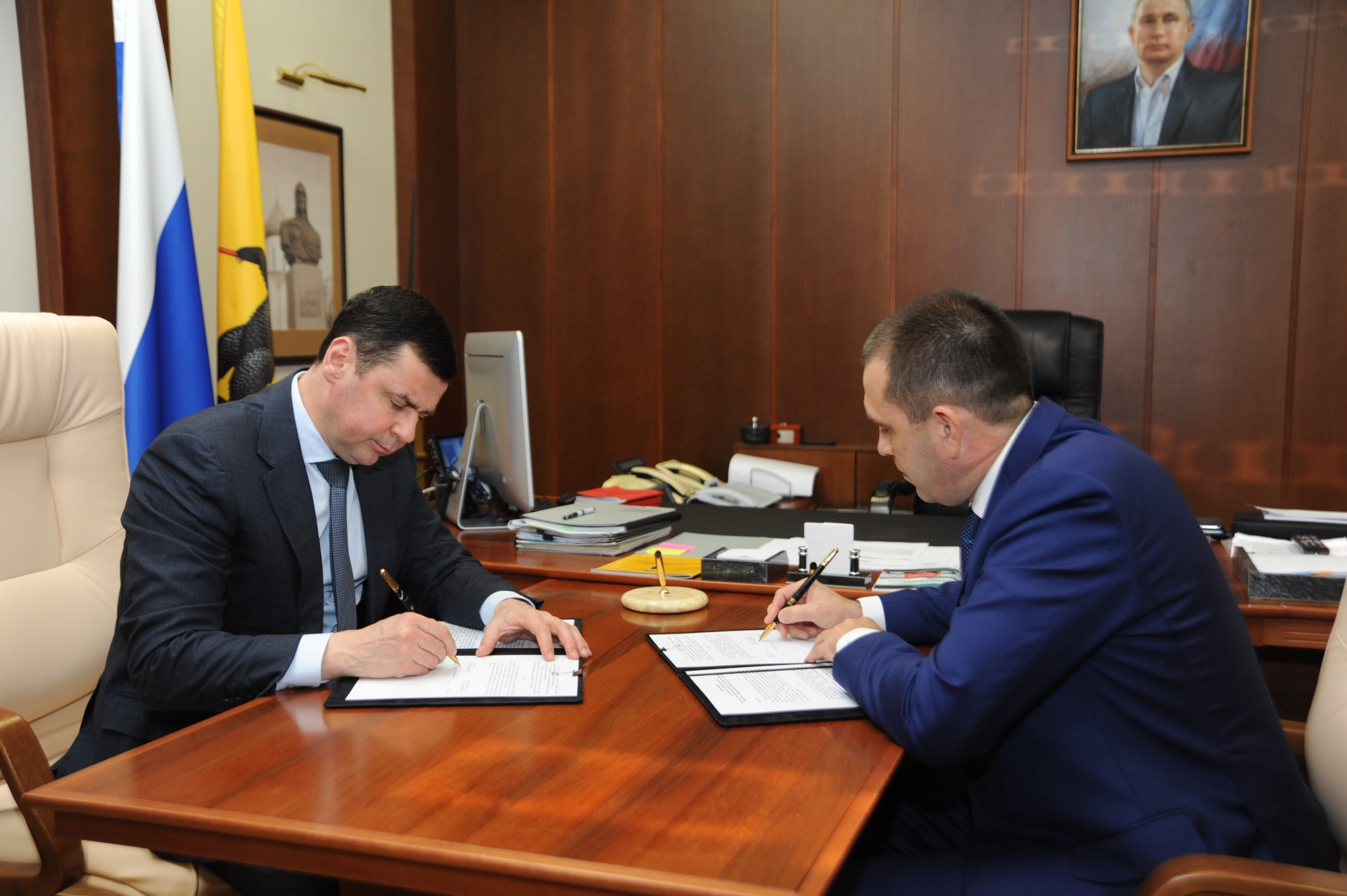 "The Government of the Yaroslavl Region and PJSC ""Slavneft-YANOS"" signed the Addendum to the Cooperation Agreement for 2020"